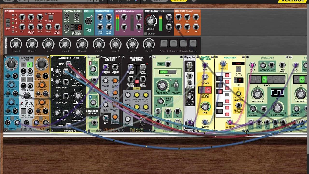 Cherry Audio Voltage Modular Ignite, Ladder Filter