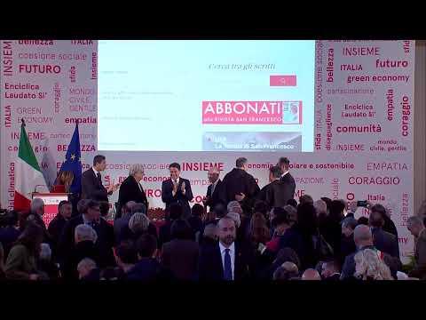 """Conte alla presentazione de """"Il Manifesto di Assisi"""" from YouTube · Duration:  30 minutes 17 seconds"""