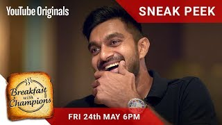 #Breakfastwithchampions Episode 5 Sneak Peek | Vijay Shankar