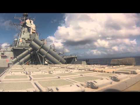 USS John S. McCain (DDG 56) harpoon and SM-2 misile firing!  Enjoy!