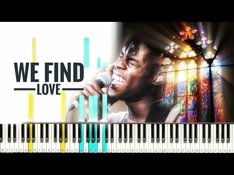 Daniel Caesar - We Find Love [#reggiewatkins piano synthesia tutorial]