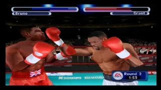 Knockout Kings 2001 - PS2 Gameplay
