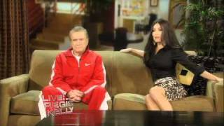 regis and kelly become a modern family it s halloween 2010