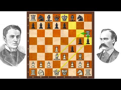 ♘ Historische Schachpartie zur verwundbaren Diagonale 👴👵 Schach-Grundlagenkurs, Folge 3