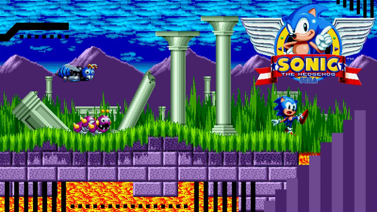 Sonic The Hedgehog Marble Zone Remix By Louplayer Zematmort Youtube