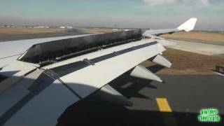 Lufthansa A340-600 Professional Very Smooth Landing at New York John F. Kennedy Airport!!