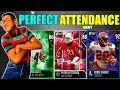THE PERFECT ATTENDANCE DRAFT! PLAYERS WITH THE LEAST AMOUNT OF MISSED GAMES! Madden 19 DC