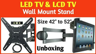 Led tv & lcd tv Information of Wall Mount Stand and from 42 inches to 52 inches
