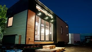 Le Chêne Tiny House Goes Deep AND Wide