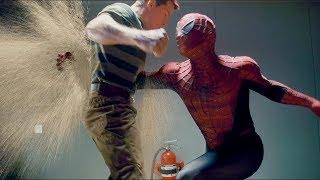 """Первая встреча с песочным злодеем - """"Человек-паук 3: Враг в отражении"""" отрывок из фильма"""