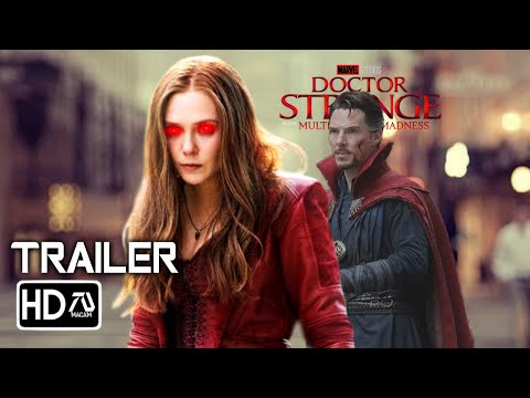 Doctor Strange:Multiverse Of Madness (2021) Trailer #2 - Benedict Cumberbatch (Fan Made) MCU Film
