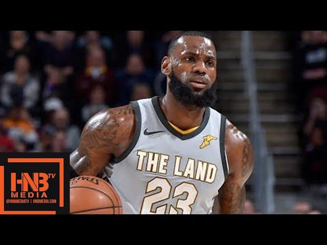 Cleveland Cavaliers vs San Antonio Spurs Full Game Highlights / Feb 25 / 2017-18 NBA Season #1
