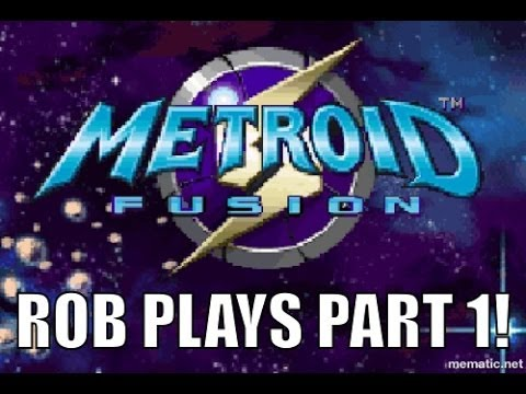 Metroid Fusion Wii U Playthrough PART 1 - Exposition Overload!