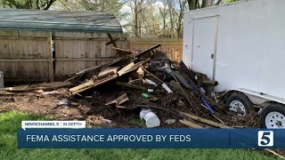 Three counties approved for FEMA disaster assistance