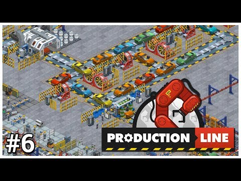 Production Line - #6 - Expensive Expenditure - Let's Play / Gameplay / Construction