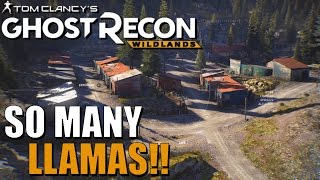 GHOST RECON WILDLANDS Best Sights and Landmarks ep #19 The Llamas of Pa Kollu