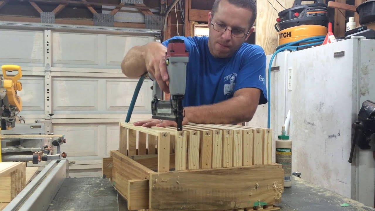 Frame Building Jig - Langstroth Beehive - YouTube