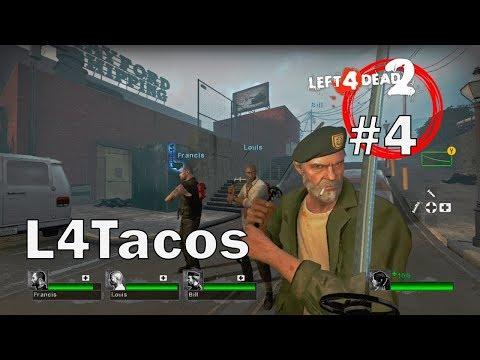 Left 4 Dead 2 Mutación: Los 4 Taqueros Locos -  Blood Harvest Expert Co-Op LIVE
