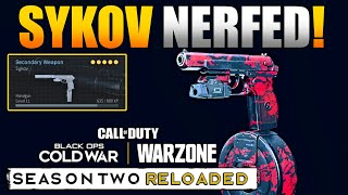 Update Nerfs Akimbo Sykov Pistol in Warzone | Fix to Perks and Attachments
