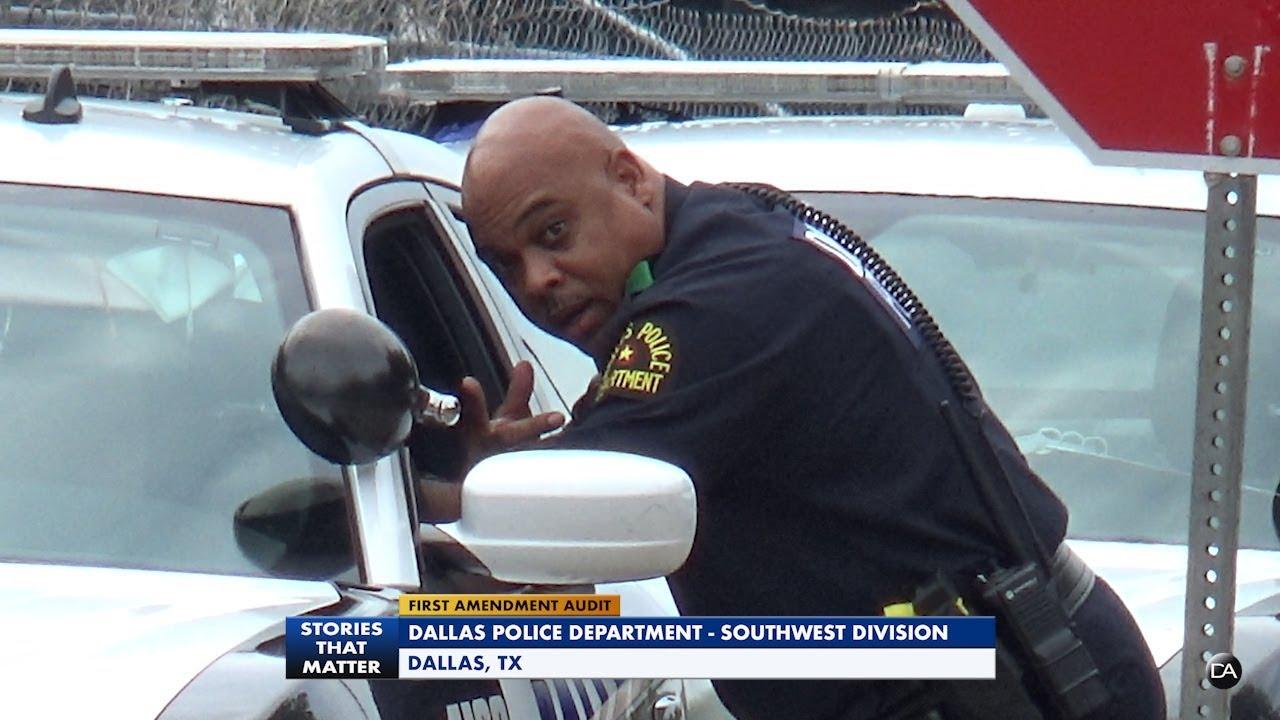 First Amendment Audit - Dallas Police Department Southwest Operation