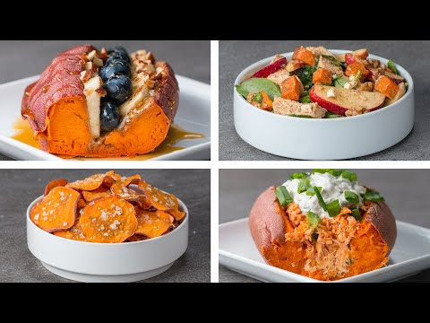 4 Delicious Sweet Potato Recipes