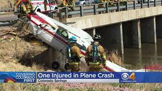One Hospitalized Following Plane Crash