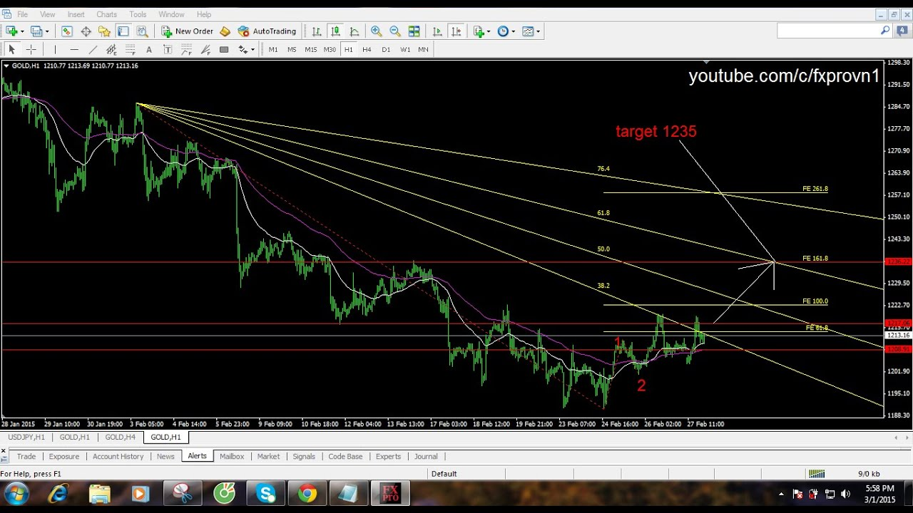 Daily forex gold