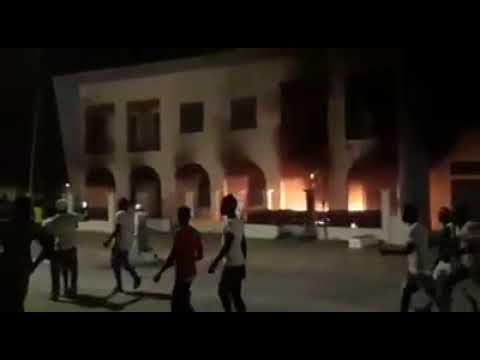 Manifestations des pêcheurs: le siège de l'OMVS incendié