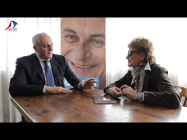 INTERVISTA A NICOLA CAPUTO CANDIDATO ALLE EUROPEE PARTITO DEMOCRATICO - APPiA POLIS