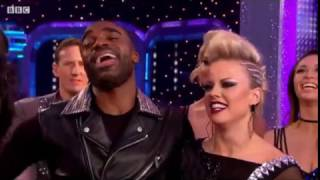 ore oduba and joanne clifton dance quickstep to are you gonna be my girl   strictly week 12