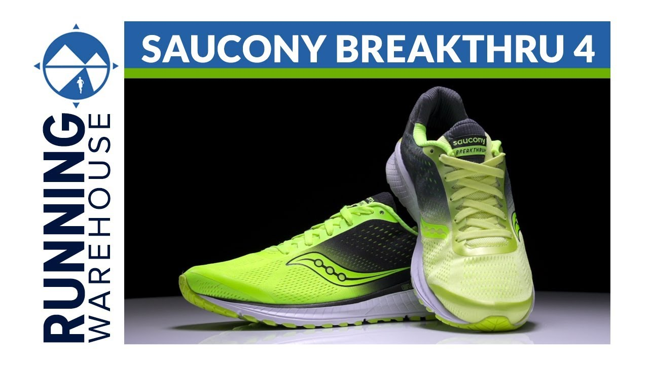 Saucony Breakthru 4 Running Shoe