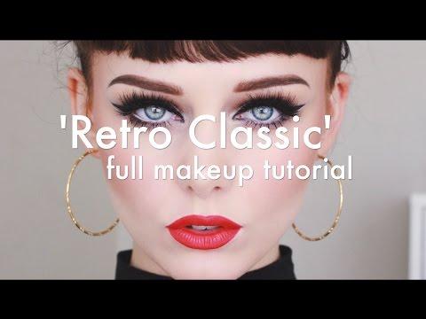 'Retro Classic' Makeup Tutorial