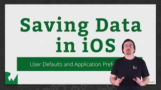 User Defaults and Application Preferences -  Saving Data in iOS - raywenderlich.com