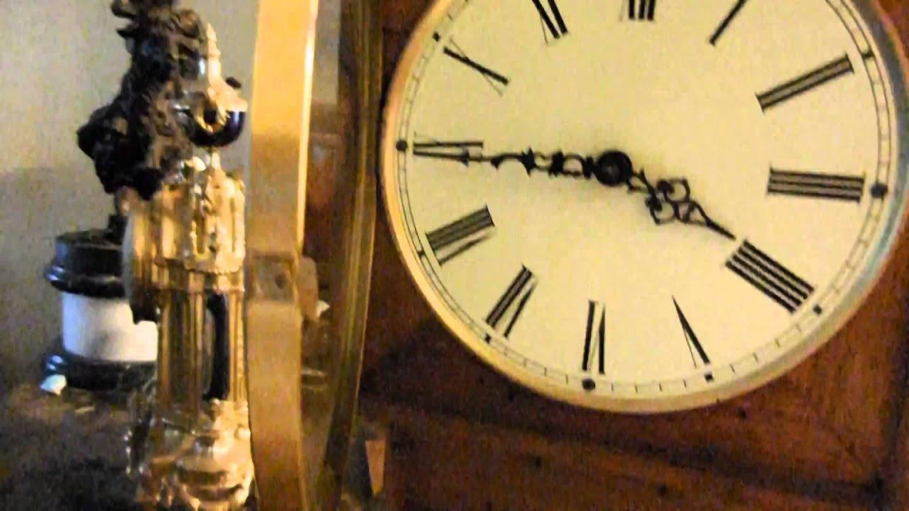 Vintage urgos uw 392 mantel wind up chime clock 21 tall youtube vintage urgos uw 392 mantel wind up chime clock 21 tall amipublicfo Choice Image