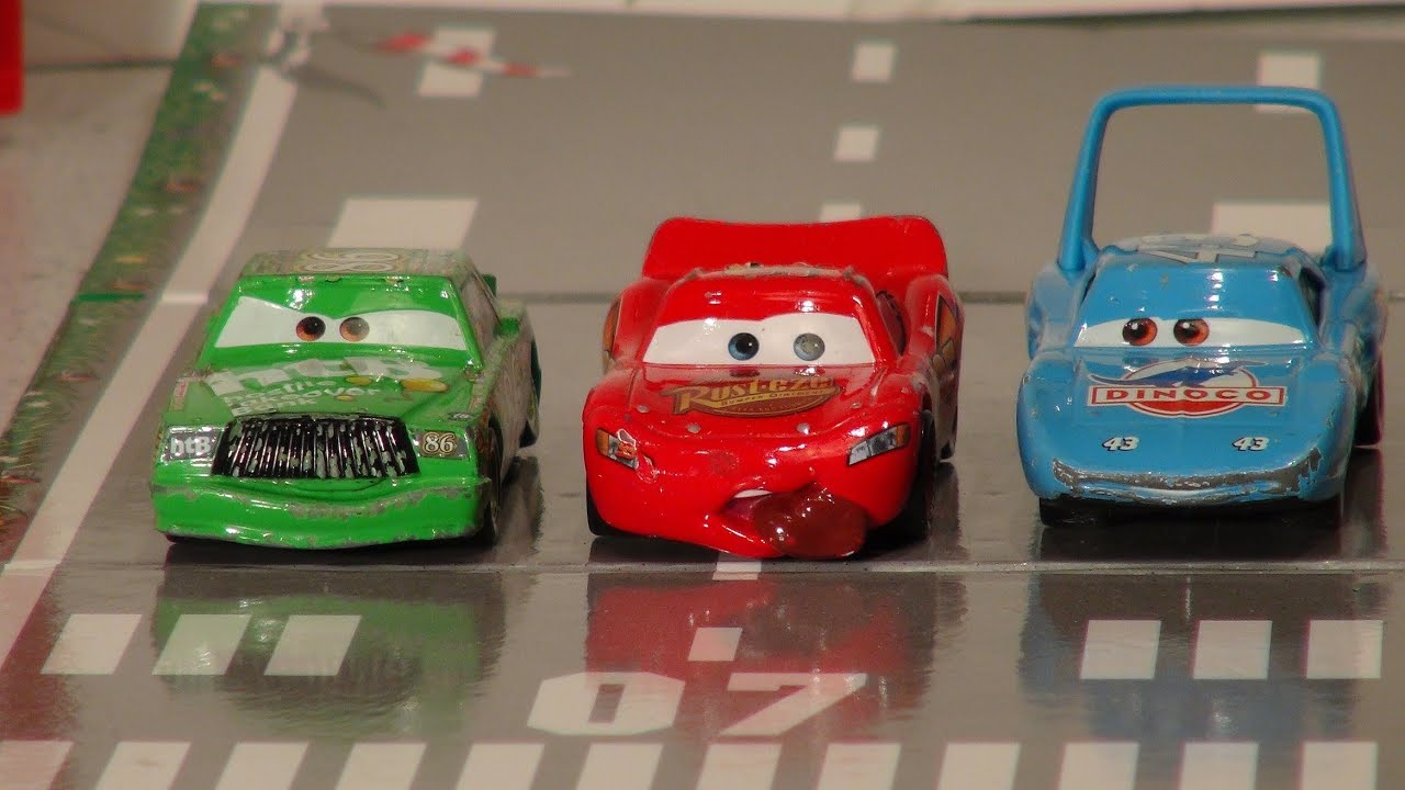 Pixar Cars A Video Re Enactment Of How Lightning Mcqueen Got Stranded In Radiator Springs