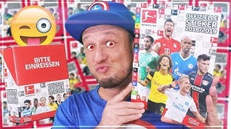 TOPPS Fussball Bundesliga DISPLAY Sticker 2018/19 Unboxing