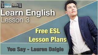 ESL English Vocabulary | You Say, Lauren Daigle