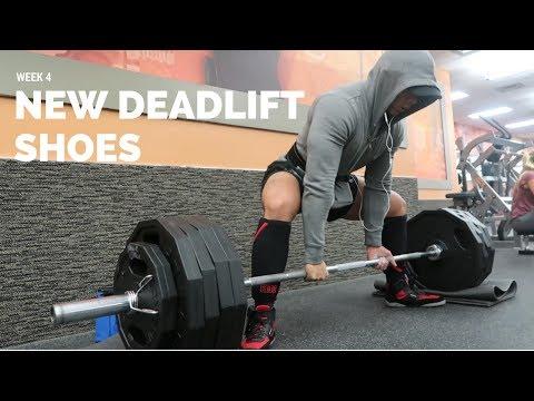 NEW DEADLIFT SHOES | 55lb PR @148lb | SABO Lifting shoes
