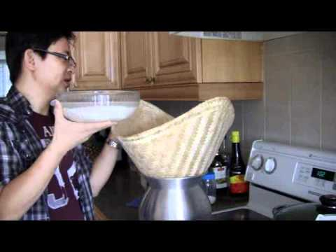 How to cook or make sticky rice (glutinous or sweet rice ...