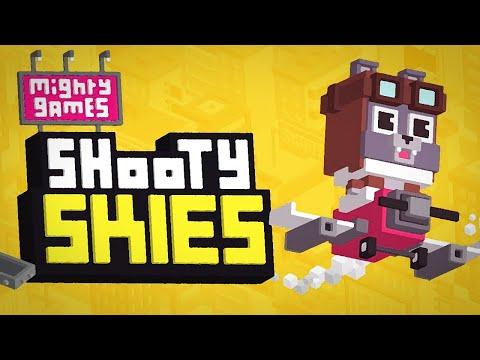 ROCKET PUGS!! | Shooty Skies