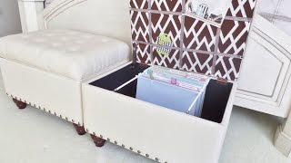 File Storage Ottoman [how To]