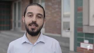 """Tareq alaows (seebrücke) für """"ein europa alle – deine stimme gegen nationalismus"""" demo"""