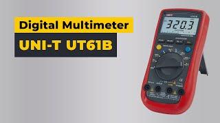 UNI-T UT61B Digital Multimeter Video Review