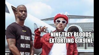 Wiretap of 9 Trey Bloods Extorting Tekashi for Money, Call Shotti a Roach