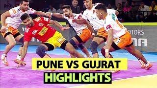 Pro Kabaddi 2019 Highlights[Hindi]: Puneri Paltan beat Gujarat Fortunegiants | Sports Tak