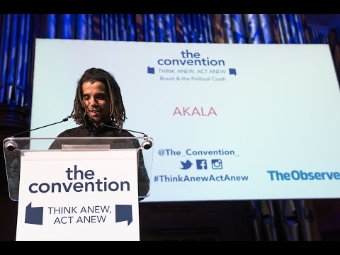 """Akala: """"The battle of Britishness in the age of Brexit"""""""
