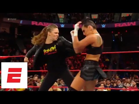 Ronda Rousey takes down Sonya Deville on WWE Monday Night Raw | ESPN