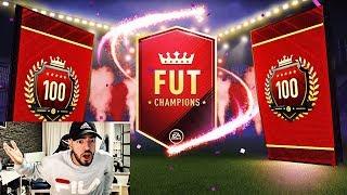 5x WALKOUT & 6 INFORMS in MEINEN FUT CHAMPIONS REWARDS 🤑😍 FIFA 18 Pack Opening - Wakez
