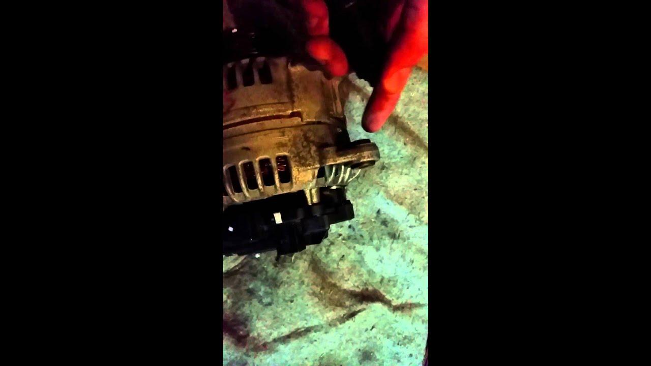 2001 Vw Beetle Alternator Install
