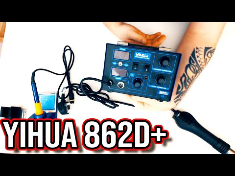 Yihua 862D+ SMD Rework Station | Unboxing & 1st Impressions